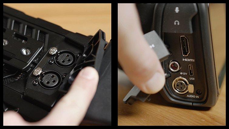The BMPCC 6K VS. the URSA Mini Pro 4.6K G2 for Handheld Shooters — Audio Inputs