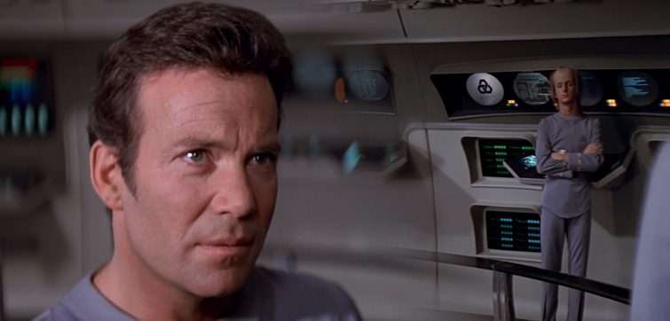 Split-field diopter in Star Trek: The Motion Picture