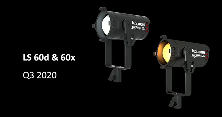Aputure Announces the New Light Storm 60D and 60X — LS Light Storm 60D and 60X