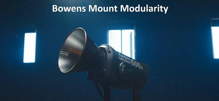 Aputure Announces Two New Light Fixtures: The 600d and NOVA 300C — Bowens Mount Modularity