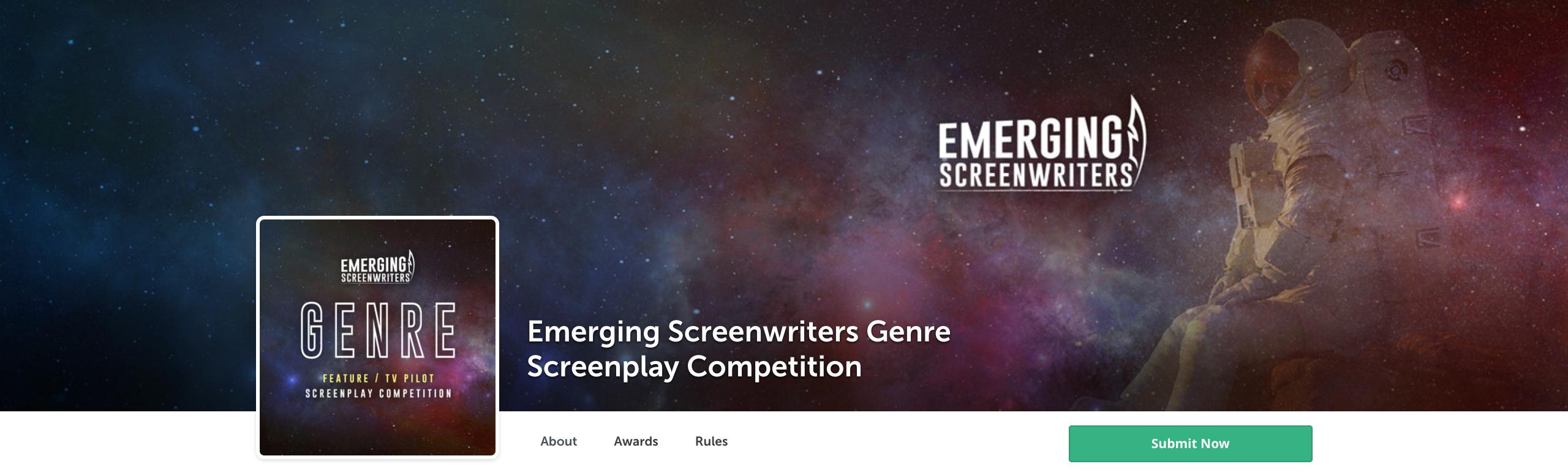 Emerging Screenwriters Genre Screenplay Competition