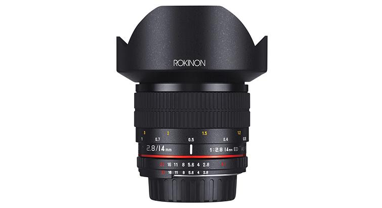 Rokinon 14mm f2.8 ED AS IF UMC Series
