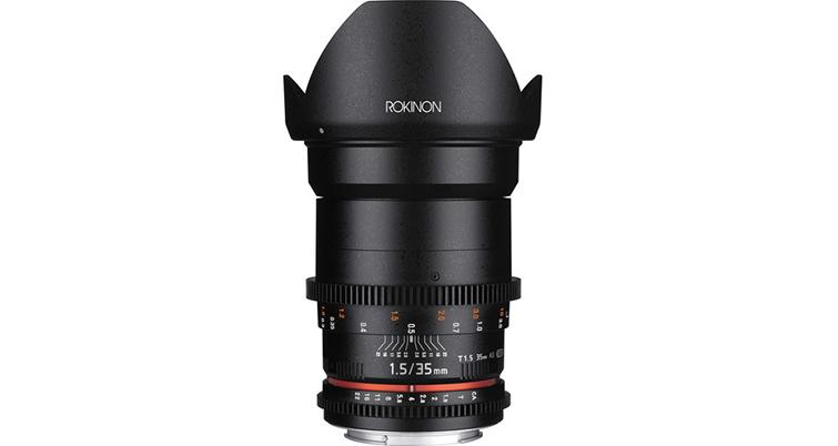 Rokinon Cine 35mm T1.5 Cine DS Lens