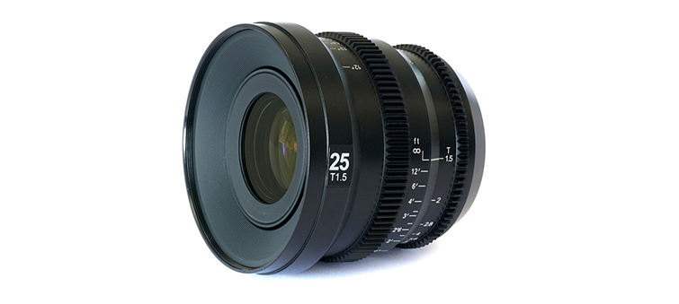SLR Magic MicroPrime CINE 25mm T1.5