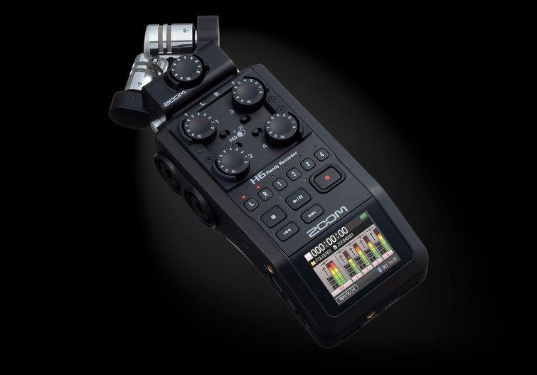 Zoom's H6 Recorder