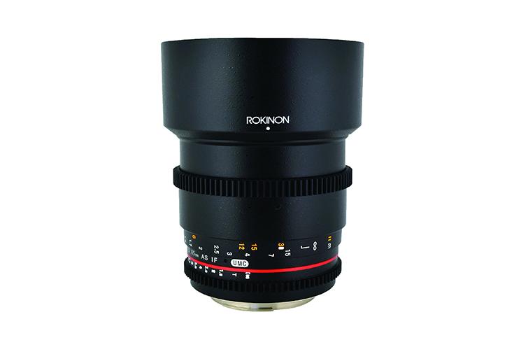 Cinema lenses: Rokinon
