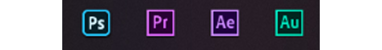 Dear Adobe, Please Change the App Icons Back to Their Individual Colors - Before