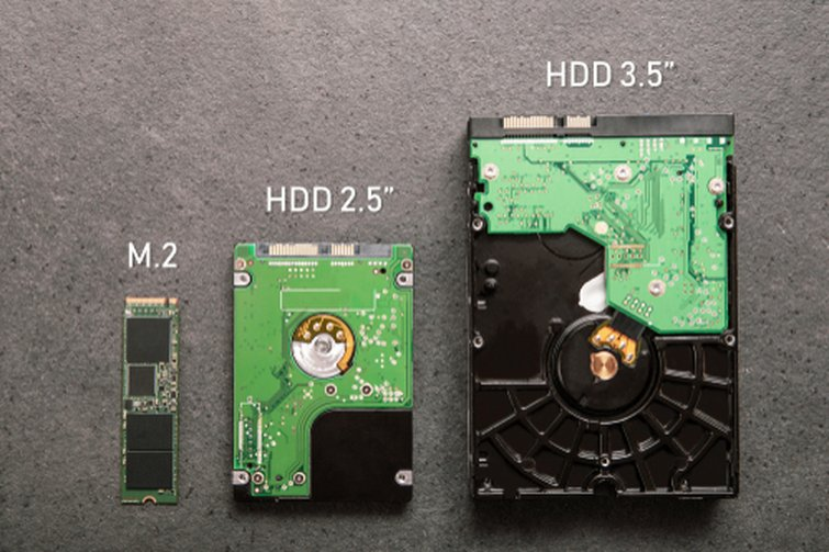 SSDs vs. HDDs