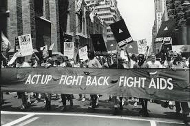 ACT UP Protests