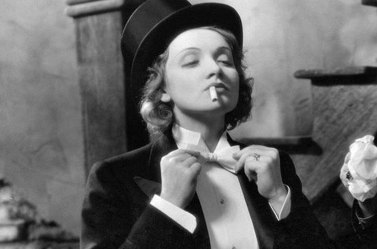 Marlene Dietrich in Morocco