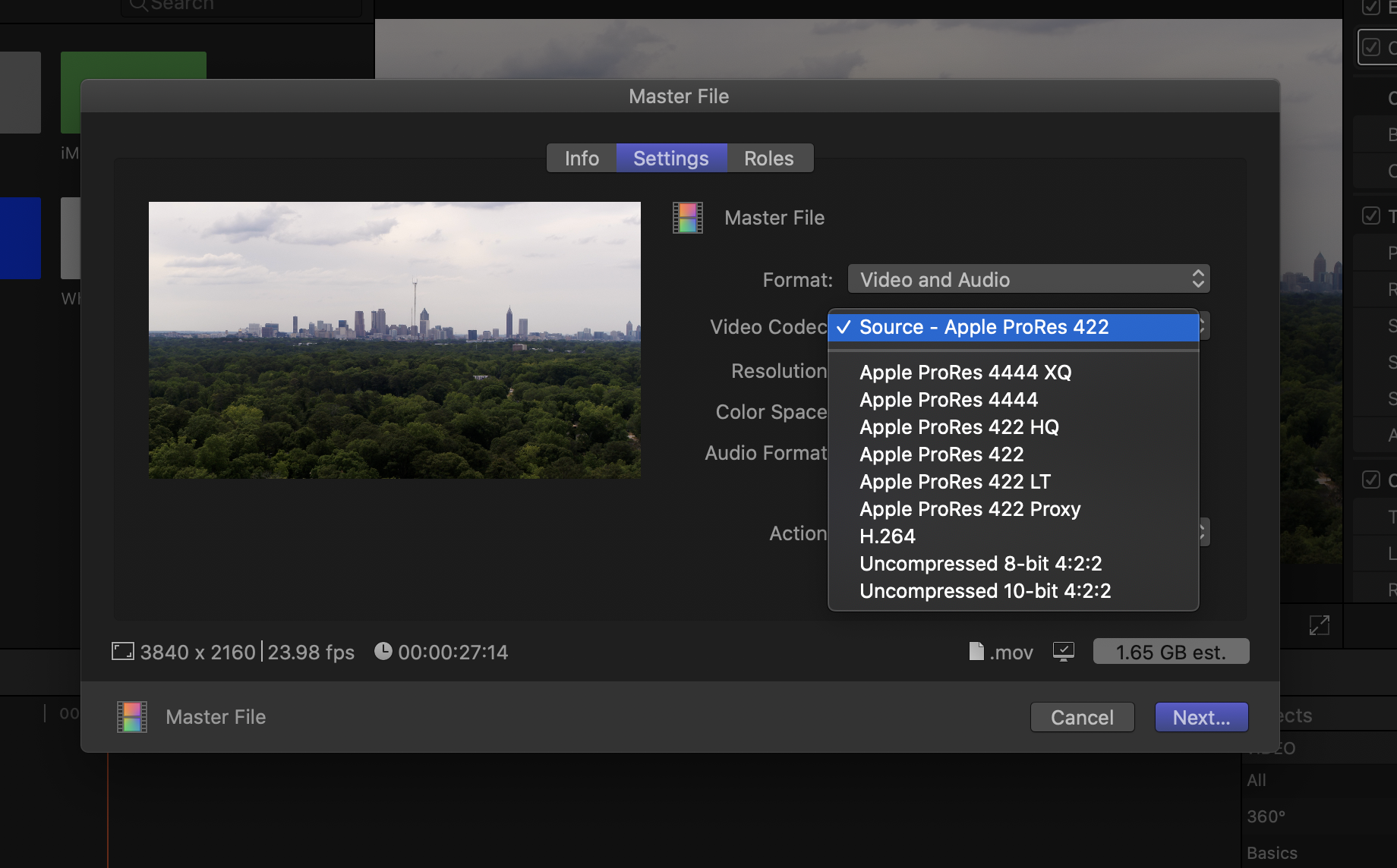 How To Export A High Resolution Movie Out Of Final Cut Pro X