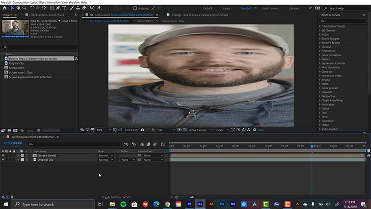 Corner Pin Effect in After Effects