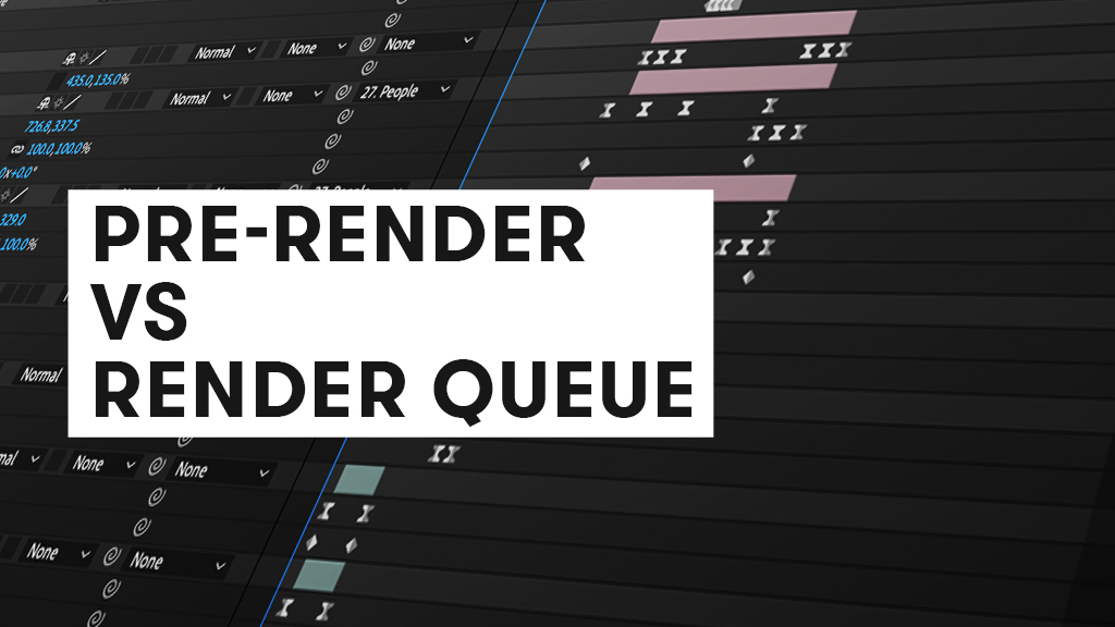 Are Pre-Rendering and Rendering the Same Thing?