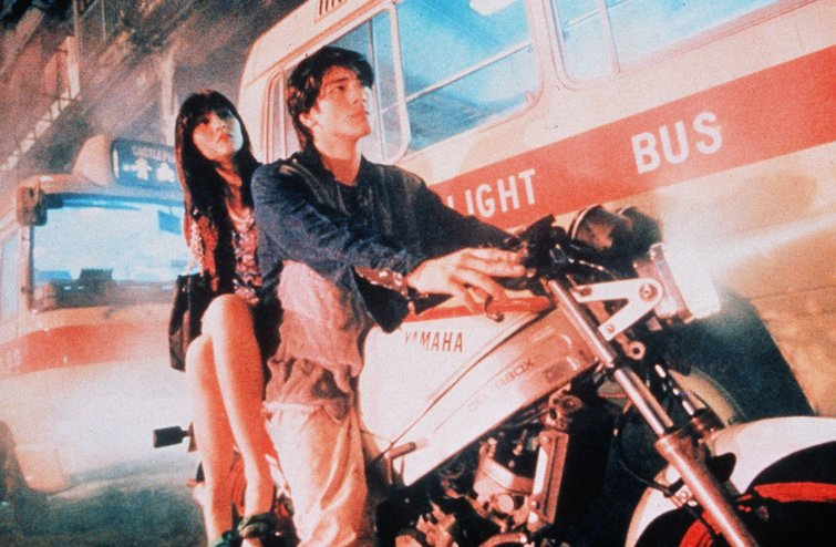 Charlie Yeung and Leon Lai in Fallen Angels