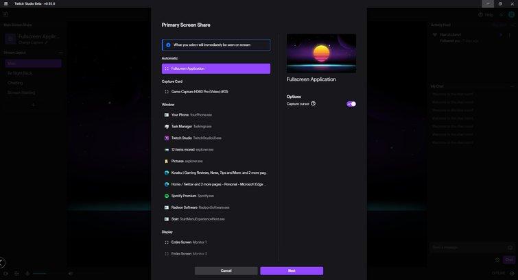 Twitch Studio: Stream Setup