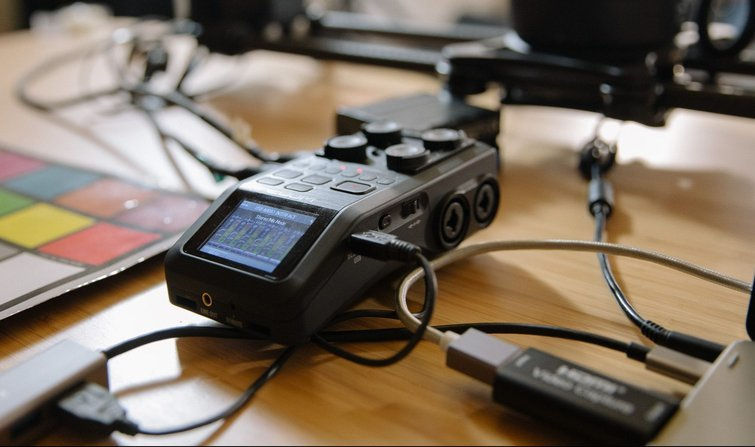 Zoom H6 Interface Options