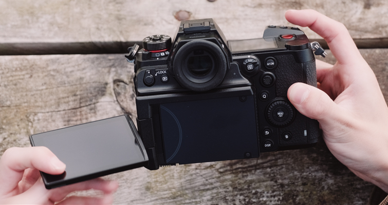 The S1 vs. the S1H: What Makes a Video-Focused Camera? - Lumix S1H Articulating Screen
