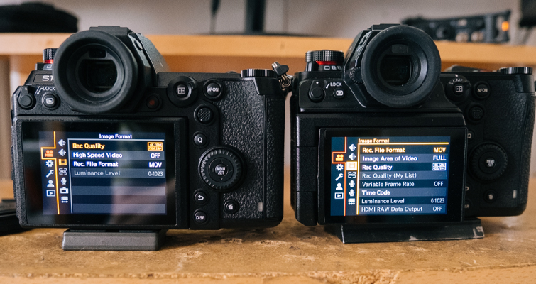 The S1 vs. the S1H: What Makes a Video-Focused Camera? - Lumix S1/S1H Menus