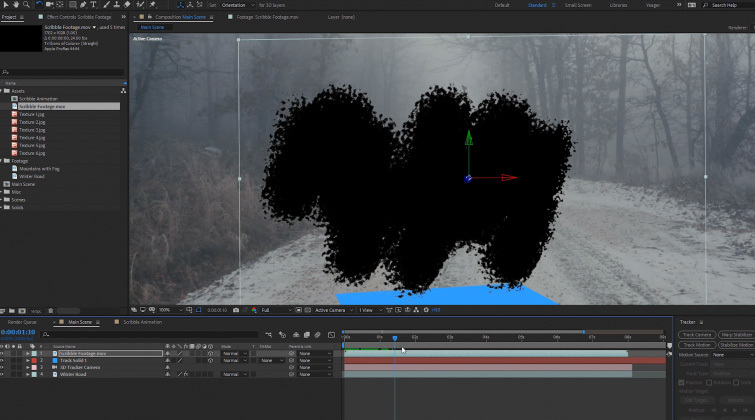 Portal Transition in After Effects: 3D Layer Position