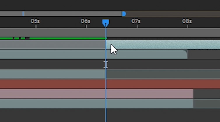 Portal Transition in After Effects: Split Layer