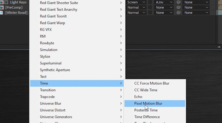 Portal Transition in After Effects - Pixel Motion Blur