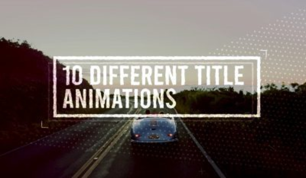 10 FREE Motion Graphics Templates for Premiere Pro (Animated Titles)