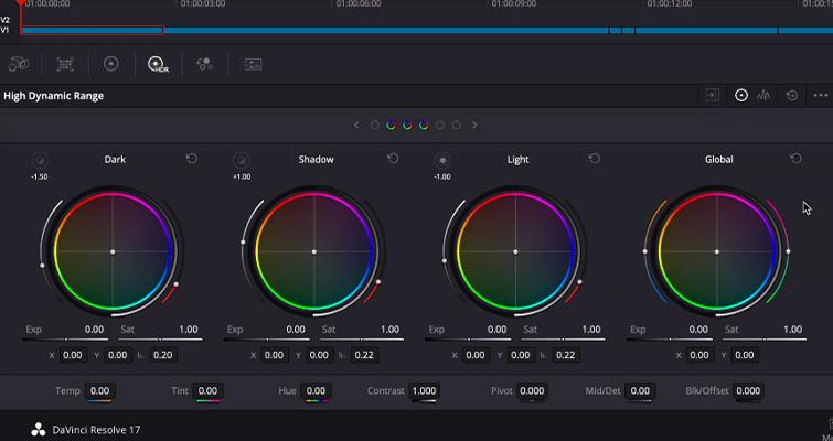 Blackmagic Announces DaVinci Resolve 17: Color and Editing - DaVinci Resolve 17: HDR Panel