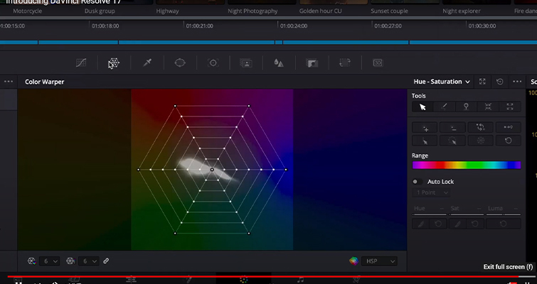 Blackmagic Announces DaVinci Resolve 17: Color and Editing - DaVinci Resolve 17: Color Warper