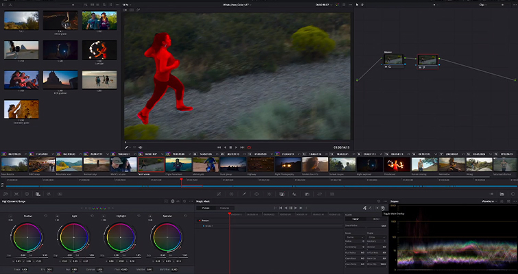 Blackmagic Announces DaVinci Resolve 17: Color and Editing - DaVinci Resolve 17: Magic Mask