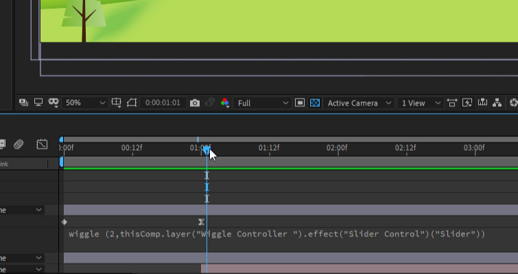 After Effects: Expression Example
