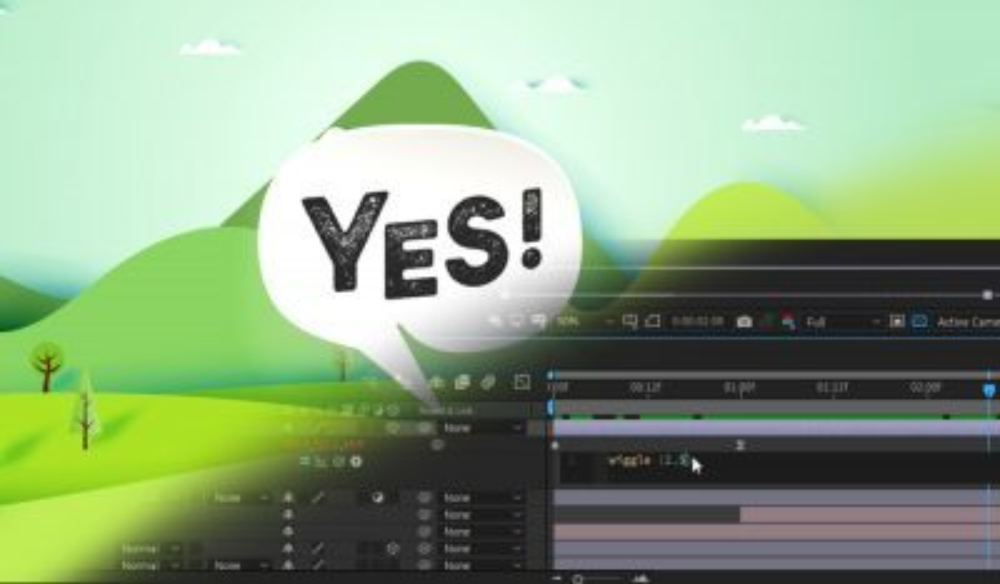 The Wiggle Expression: Creating Movement in After Effects