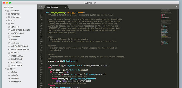 Screenwriting Software: Sublime Text