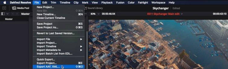DaVinci Resolve to Premiere Pro: Load Your Edit