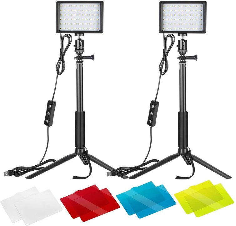 Neewer LED Lights with Adjustable Tripod Stand