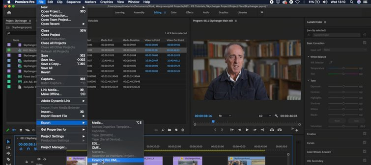 Premiere to FCPX: Loading Your Edit