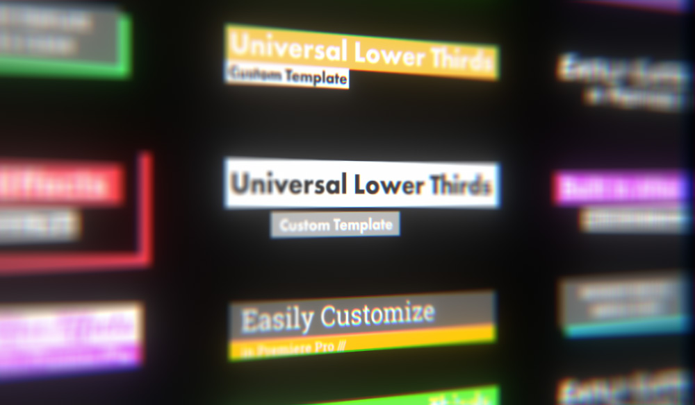 How to Make a Lower Thirds Template That You Can Reuse Anywhere