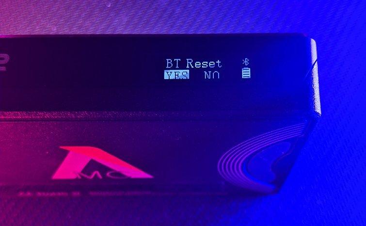 Aputure MC Link BT Reset