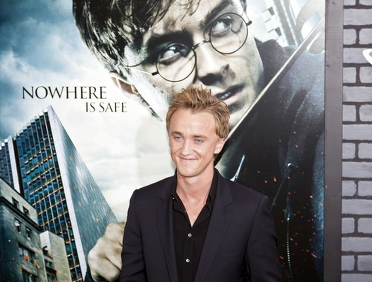 Tom Felton Attends Harry Potter and the Deathly Hallows: Part I Premiere