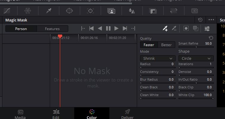 Magic Mask's User Interface