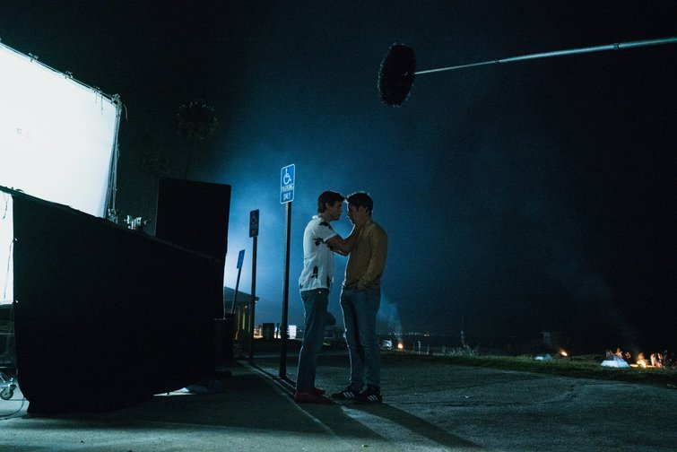 Lighting at Night: Smiley Face Killers on Set