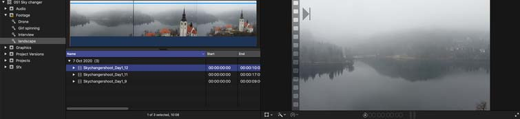 FCPX's Keyword Collection