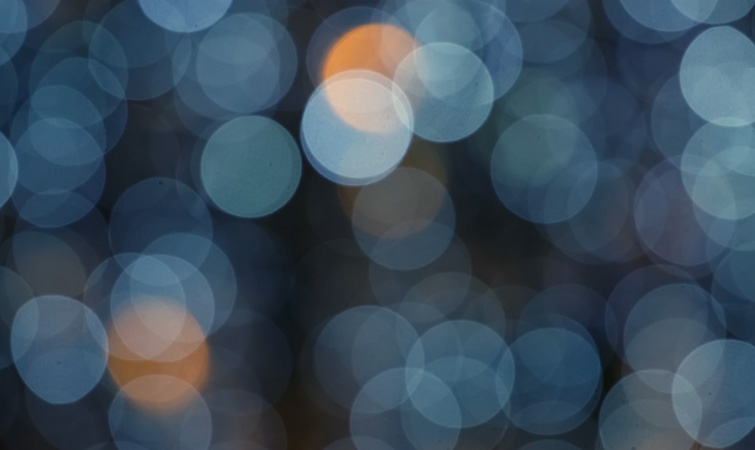 Bokeh Light Circles