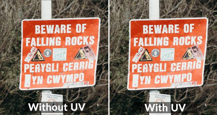 UV Compared