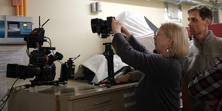 Director of Photography Claudia Raschke