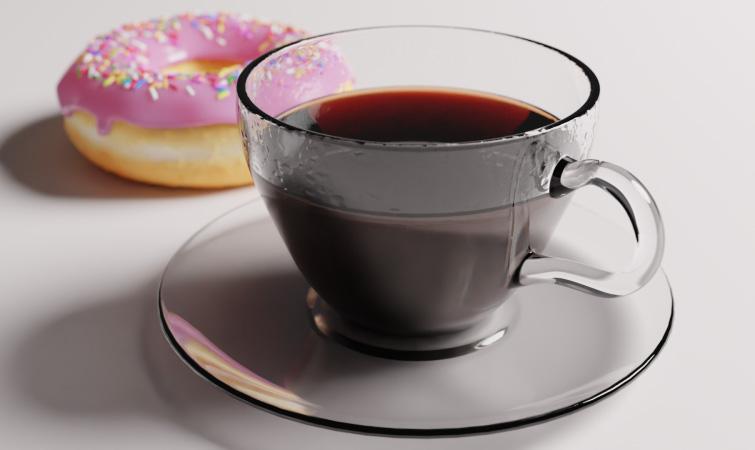 Create a Coffee Cup