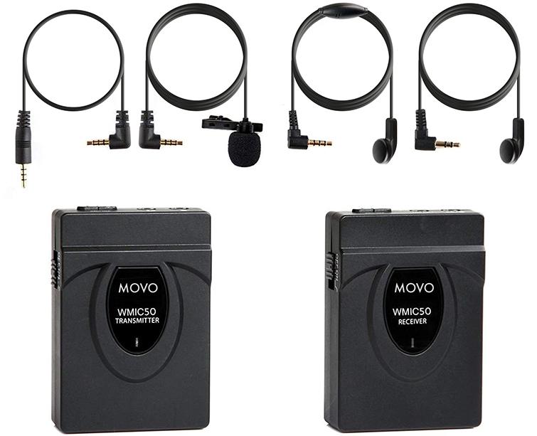Movo WMIC50 Lav Mic Kit
