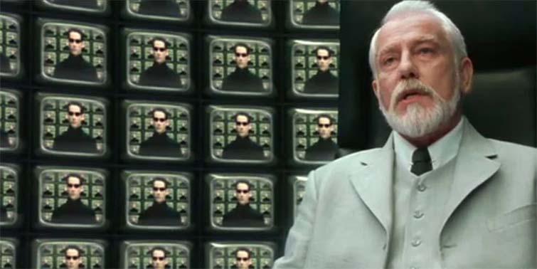 The Architect in The Matrix