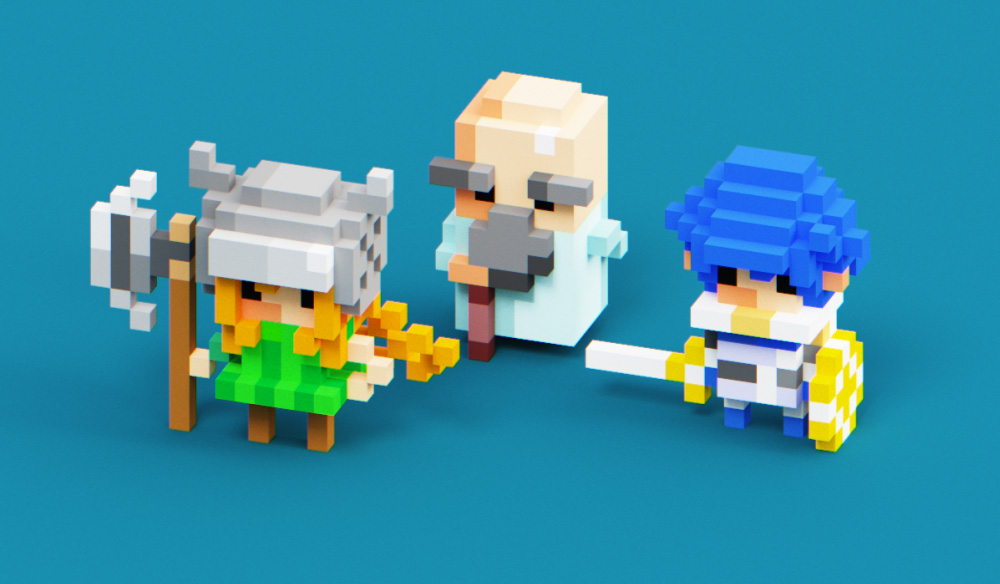 Create 3D Voxel Art with MagicaVoxel: FREE Project Files Included