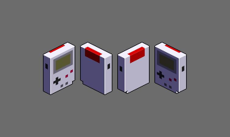Isometric Pixel Sprite