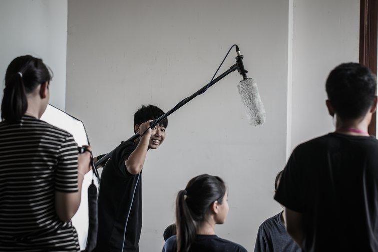 Filmmaking Students